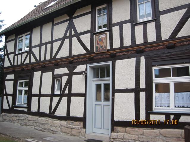 sanierte Fassade - Förderbereich Dorferneuerung 2011 - privater Antrag