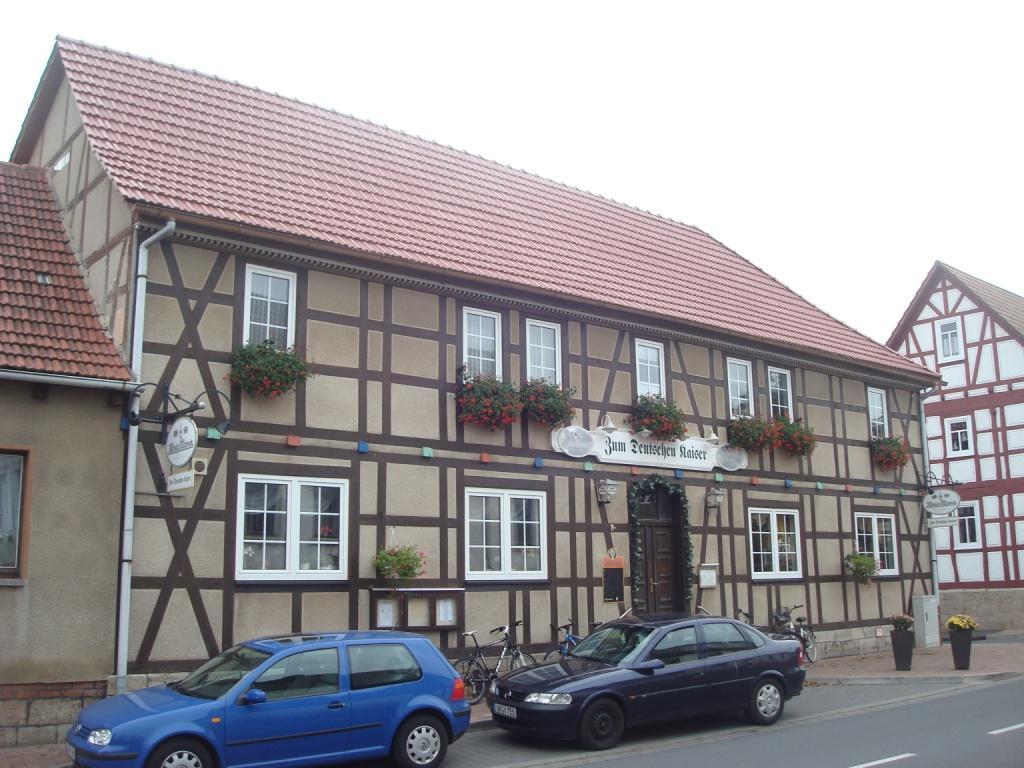 Gaststätte Zum Deutschen Kaiser in Hüpstedt