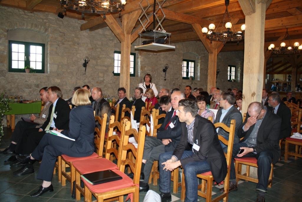 Förderschwerpunkte Dorferneuerung 2014 - 2018, Impressionen Veranstaltung Domäne Groschwitz 14.05.2012