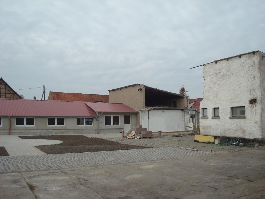 Dorferneuerung Gemeinde Weinbergen OT Bollstedt_Haus der Vereine vorher