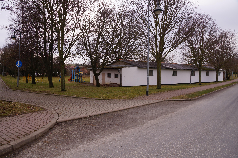 Toilettenanlage auf dem Festplatz in Lengefeld