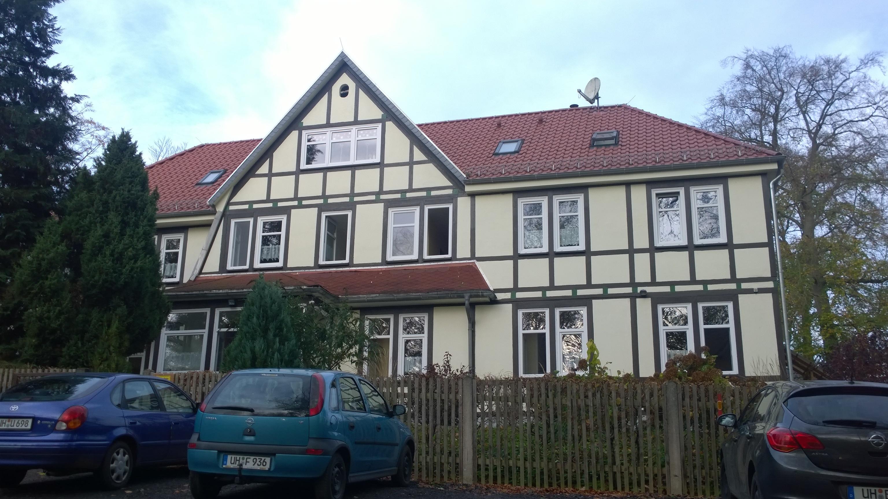 Dach Kinderheim nachher