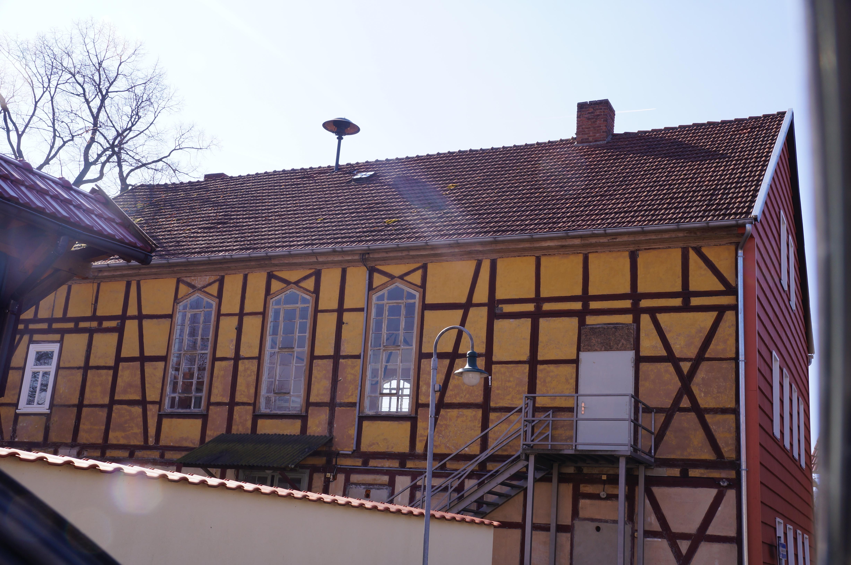 große Bogenfenster vorher
