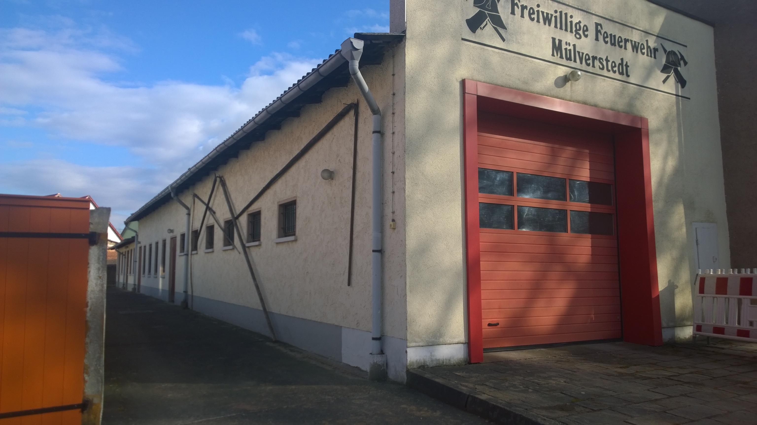 Ansicht Feuerwehrgerätehaus