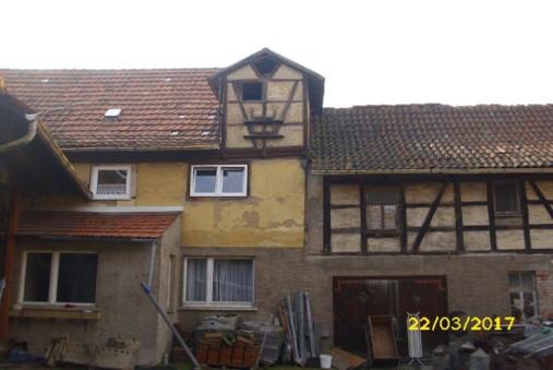 Bauernhaus vorher