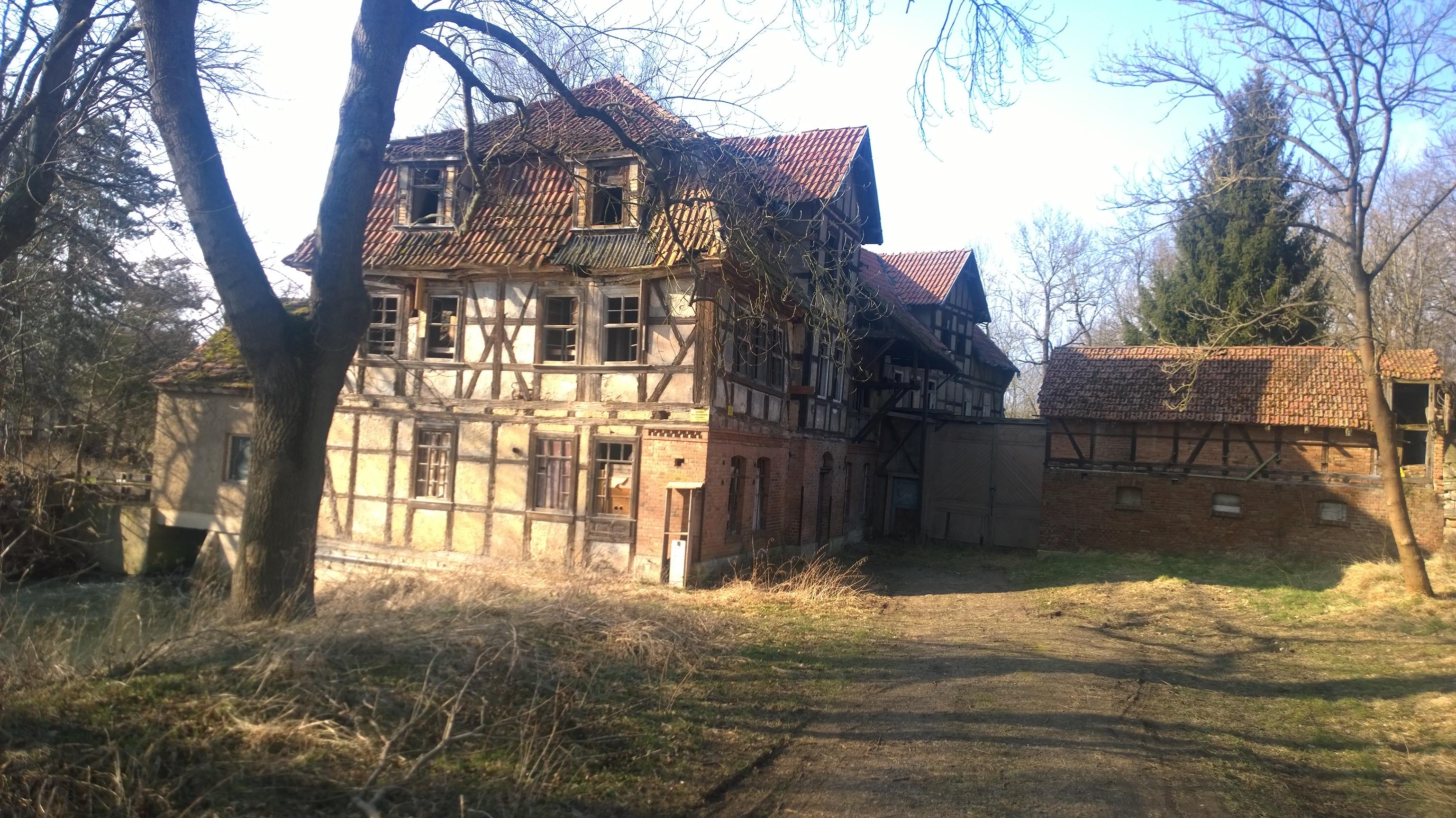 Obermühle vorher