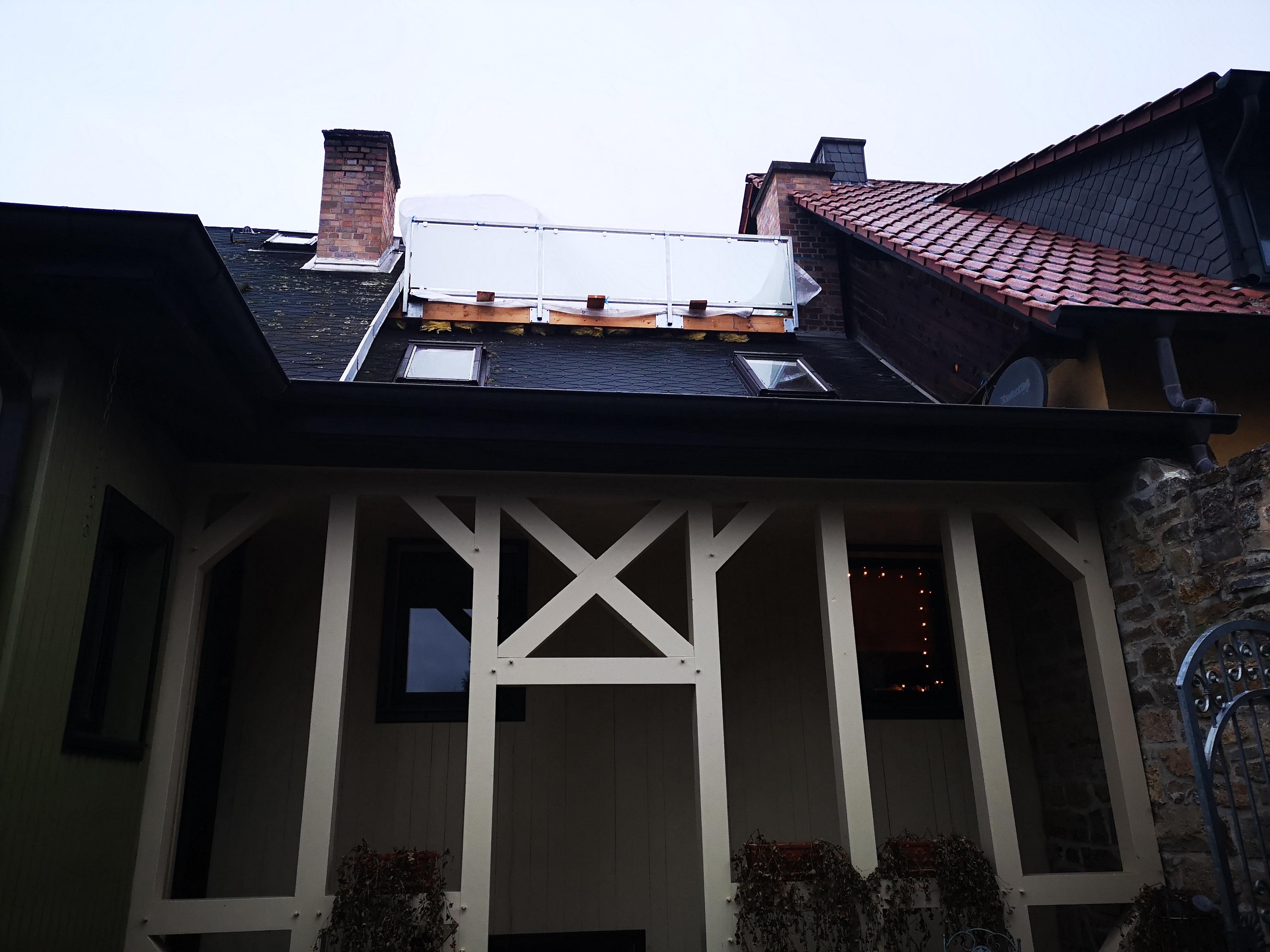 Dachterrasse nachher