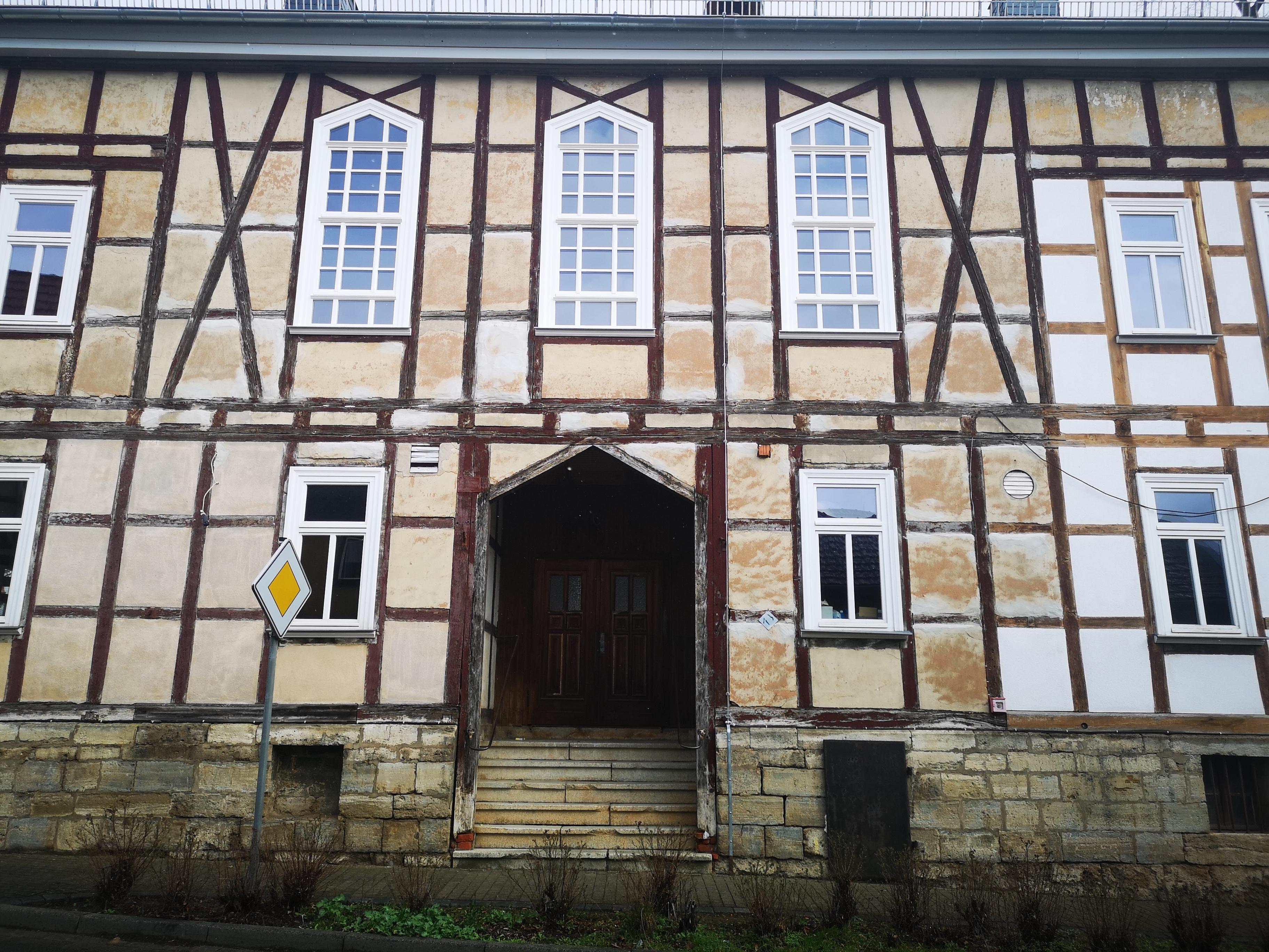 Haustür Bürgerhaus vorher