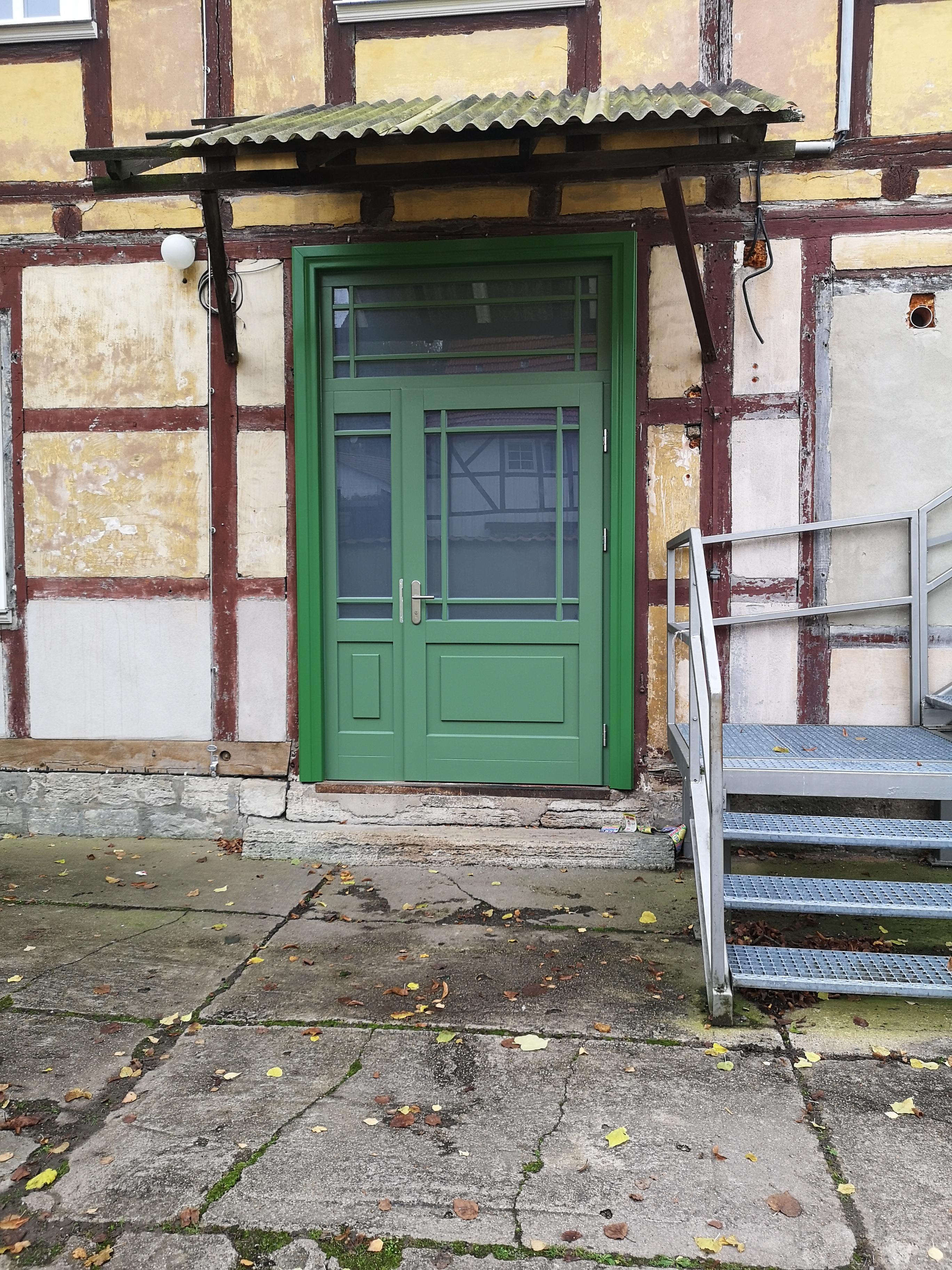 Haustür Bürgerhaus nachher