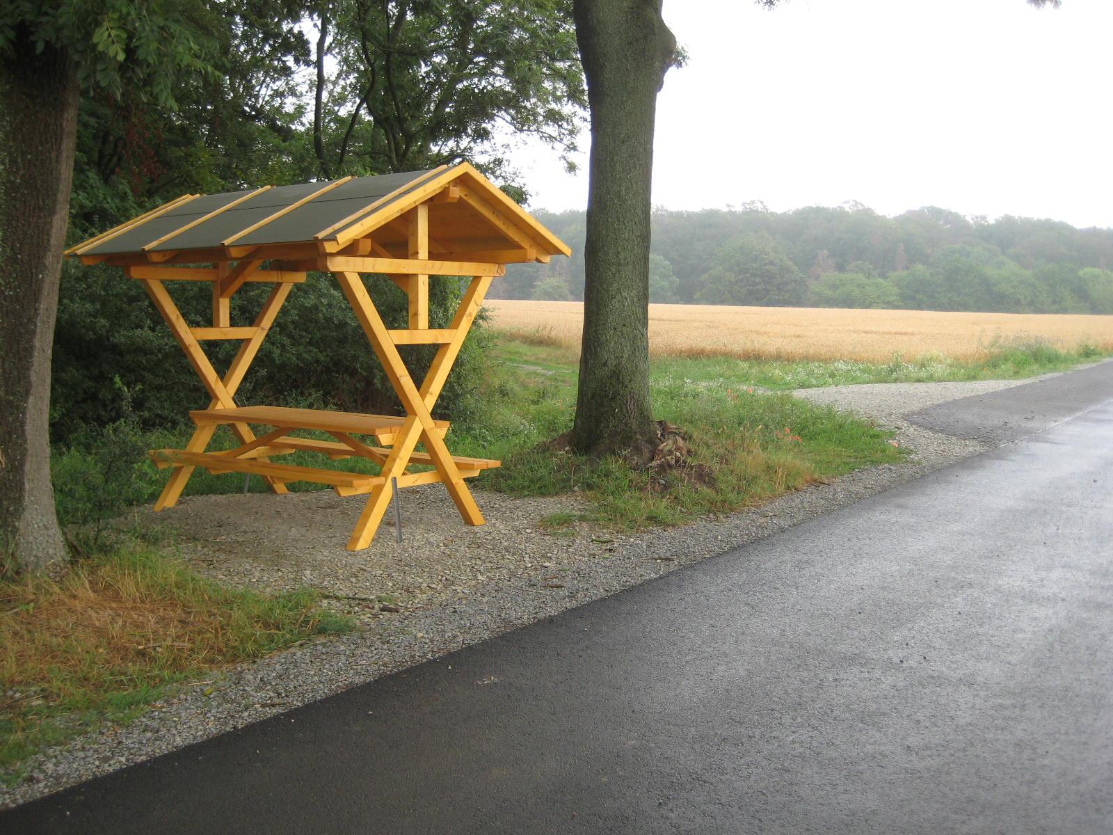 Waldschänke am Radweg