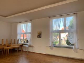 Alte Fensteranlagen Saal